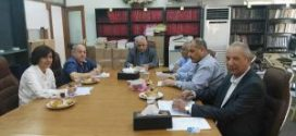اجتماع مشترك بين اللجنة العلمية واللجنة التحضيرية