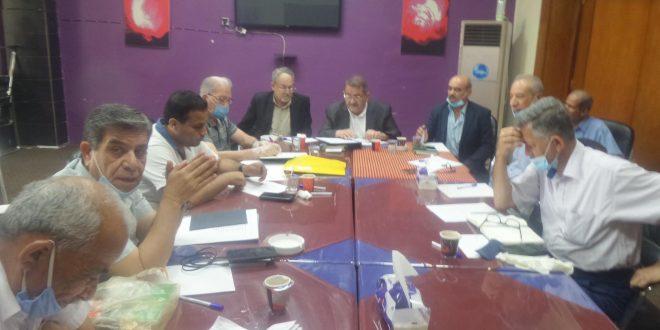 اجتمعت الهيأة الاداريةالجديدة لجمعية المهندسين العراقية