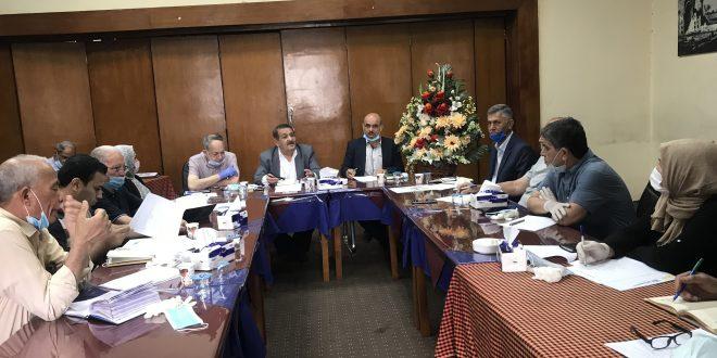 اجتمعت الهيأة الادارية لجمعية المهندسين العراقية