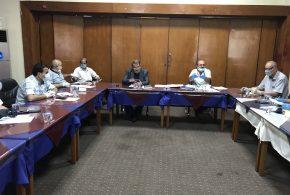 إجتمعت الهيأة الإدارية لجمعية المهندسين العراقية يوم الاثنين الموافق 22/6/2020