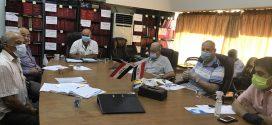 إجتمعت الهيأة الادارية لجمعية المهندسين العراقية يوم الثلاثاء الموافق 28/7/2020